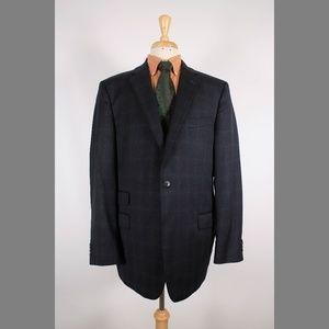Joseph Abboud 46L Gray Sport Coat B477